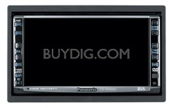 "CQ-VD6505U In-dash 6.5"" Widescreen Monitor/DVD Receiver"