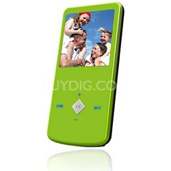 "eJam II 4GB Flash MP3 Player w/ Video Player 1.5"" LCD (Green)"