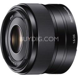 SEL35F18 - 35mm f/1.8 Prime Fixed E-Mount Full Frame Lens