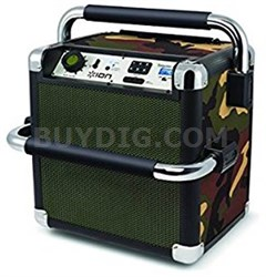 Tailgater Active Heavy-Duty Wireless Bluetooth Sound System (Camo) - IPA30ACM