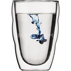 PILATUS Double Wall Glass, 12-Ounce, Set of 2