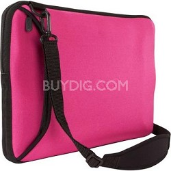 "VAIO VGP-AMC9/P Reversible 15.5"" Notebook Sleeve - Black and Pink"