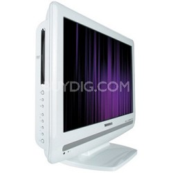 "15LV506 - 15""  High-defintion LCD TV w/ built-in DVD Player (Hi-Gloss White)"