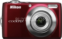 COOLPIX L22 Digital Camera (Red)