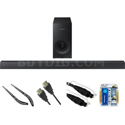 Soundbar with Wireless Subwoofer HW-K360/ZA w/ Bracket Kit
