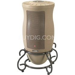 6435 Designer Series Ceramic Oscillating Heater/Remote Control - OPEN BOX