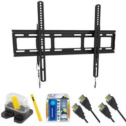 "Large Size Tilt TV Mount & Set Up Kit for 37""-70"" TVs up to 110LB - TLR-EC3215T"