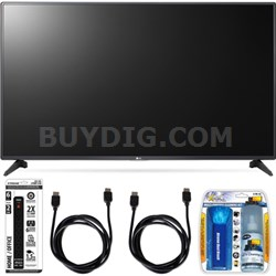 55LH5750 55-Inch LH5750 1080p Smart Full HD TV Accessory Bundle