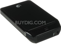 GoFlex 1 TB Ultra-Portable Ext Hard Dr. for Mac with Thunderbolt Adapt. OPEN BOX