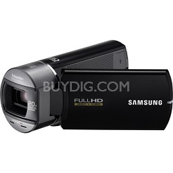 HMX-Q10BN Ultra Compact Full HD Black Camcorder w/ 10x Optical Zoom
