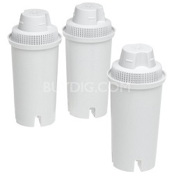 35503 Pitcher Replacement Water Filter Cartridges - 3-Pack