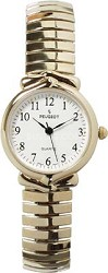 423G GoldTone Easy Flex Watch