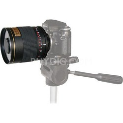 500mm F6.3 Mirror Lens - Black Body