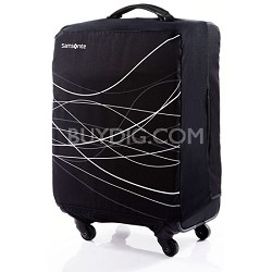 Foldable Luggage Cover, Large - Black