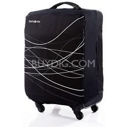 Foldable Luggage Cover, Large - Black