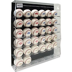 World Series Game Ball Collection with Display Case 1978 thru 2014