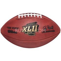 Super Bowl XLII Official Game Ball Football