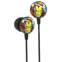 Marvel Comics Retro Earphones - Iron Man