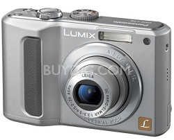 "DMC-LZ8 (Silver)Lumix 8MPDigital Cameraw/5x Optical Zoom & 2.5"" LCD-Refurbished"