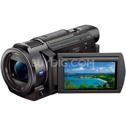 "FDR-AX33/B - 4K Camcorder with 1/2.3"" Sensor (Black) - OPEN BOX"