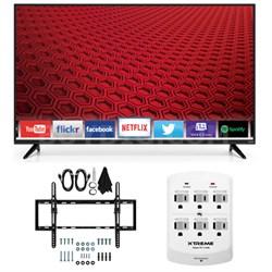 E50-C1 - 50-Inch 1080p 120Hz Smart LED HDTV Flat & Tilt Wall Mount Bundle