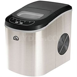 Compact Ice Maker (Stainless Steel) - ICE102ST