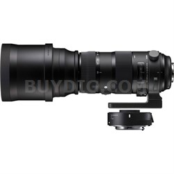 150-600mm F5-6.3 Sports Lens and TC-1401 1.4X Teleconverter Kit for Canon