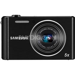 ST76 16MP 5X Optical Zoom Compact Digital Camera - Black - OPEN BOX
