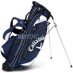 Callaway Golf Hyper-Lite 4.5 Stand Bag  - Navy / White 5112004