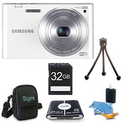 "MV900 Smart Touch Multi View 3.3"" LCD White Digital Camera Kit"