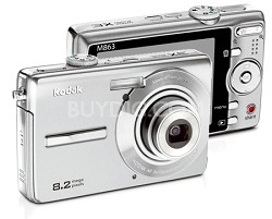 EasyShare M863 8.2 MP Digital Camera (Silver)