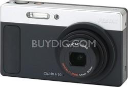 Optio H90 Compact Digital Camera Matte Black