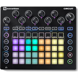 Circuit Groove Box w/ Sample Import: 2-Part Synth, 4-Part Drum Machine and Seque