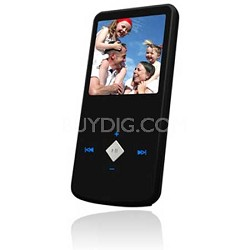 "eJam II 4GB Flash MP3 Player w/ Video Player 1.5"" LCD (Black)"