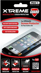 Indestructible Impact Proof Screen Protector for Iphone 5