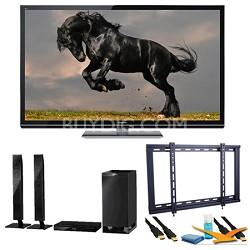 "60"" TC-P60GT50 SMART VIERA 3D FULL HD (1080p) Plasma TV Speaker Bundle"