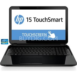 "TouchSmart 15-r050nr 15.6"" HD Notebook PC - Intel Core i3-3217U Processor"