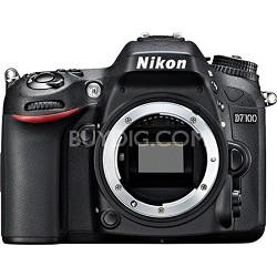 D7100 DX-Format 24.1 MP Digital SLR Camera (Body Only) Factory Refurbished