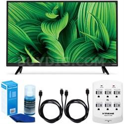 "D-Series D32hn-E1 32"" Class Full-Array LED TV w/ Accessory Bundle"