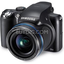 HZ50W 13.8 MP 26X Optical Zoom Black Digital Camera