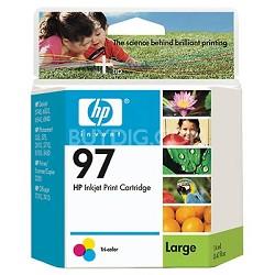 #97 Tri-color Inkjet Printer Cartridge 14 ml.