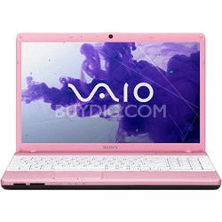 "VAIO VPCEH36FX/P 15.5"" Notebook PC -  Intel Core i3-2350M Processor (Pink)"