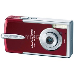 Powershot SD20 Digital ELPH Camera (Garnet)