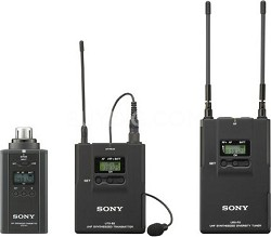 UWPV6/3032 Lav Mic, Bodypack TX, Plug-on TX and Portable RX Wireless System