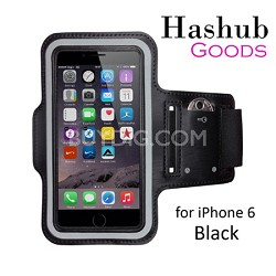 Sports Running Armband for iPhone 6/Galaxy Alpha/Sony Z3/Moto X in Black