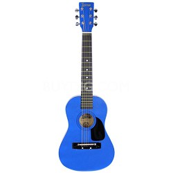 "LAPKMBL 30"" Student Acoustic/Electric Guitar Package - Metallic Blue"