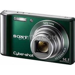 Cyber-shot DSC-W370 14MP Green Digital Camera w/ 720p HD Video