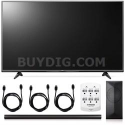65UF6800 - 65-Inch 2160p 120Hz 4K Smart TV + LAS751M 4.1 Channel Soundbar