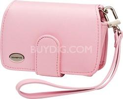 Premium Slim Leather Case (Pink)