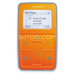 Zen Micro {Orange} 5gb MP3 Player